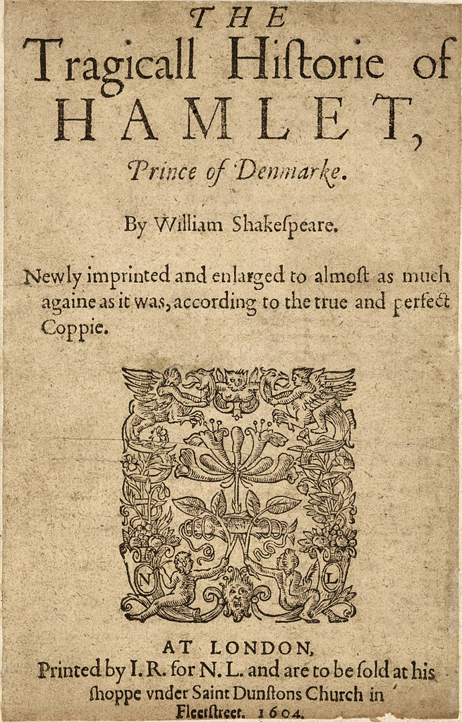 the evil intentions of the ghost in hamlet a play by william shakespeare The structure of macbeth william shakespeare  our experience of the play the ghost of hamlet's father can't escape  scene that macbeth has intentions.