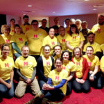 Our employee volunteers for the second annual Sensory Friendly performance of 'A Christmas Carol.' To learn more about this annual performance, which is welcoming to all families of children with autism or other sensory sensitivities, visit https://www.hartfordstage.org/sensory-friendly.